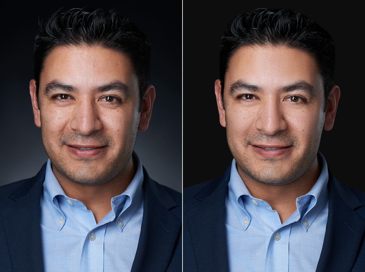 headshot retouching