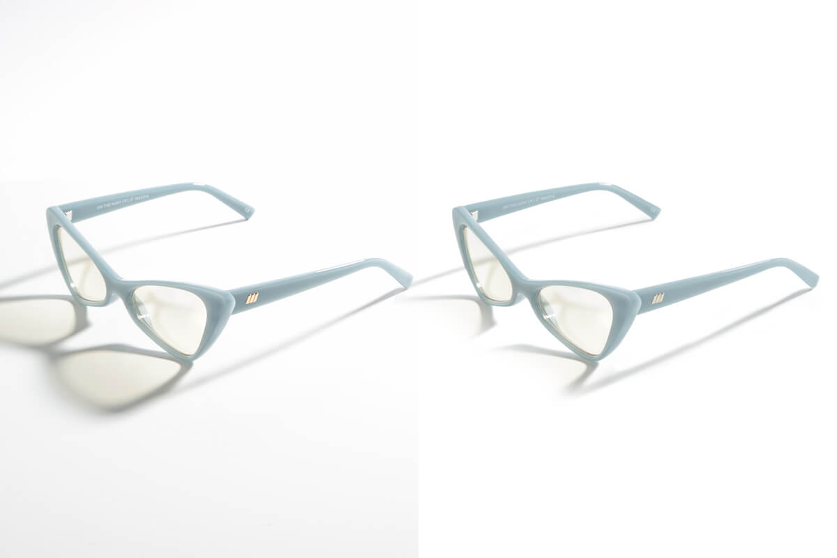 eyeglass image editing services