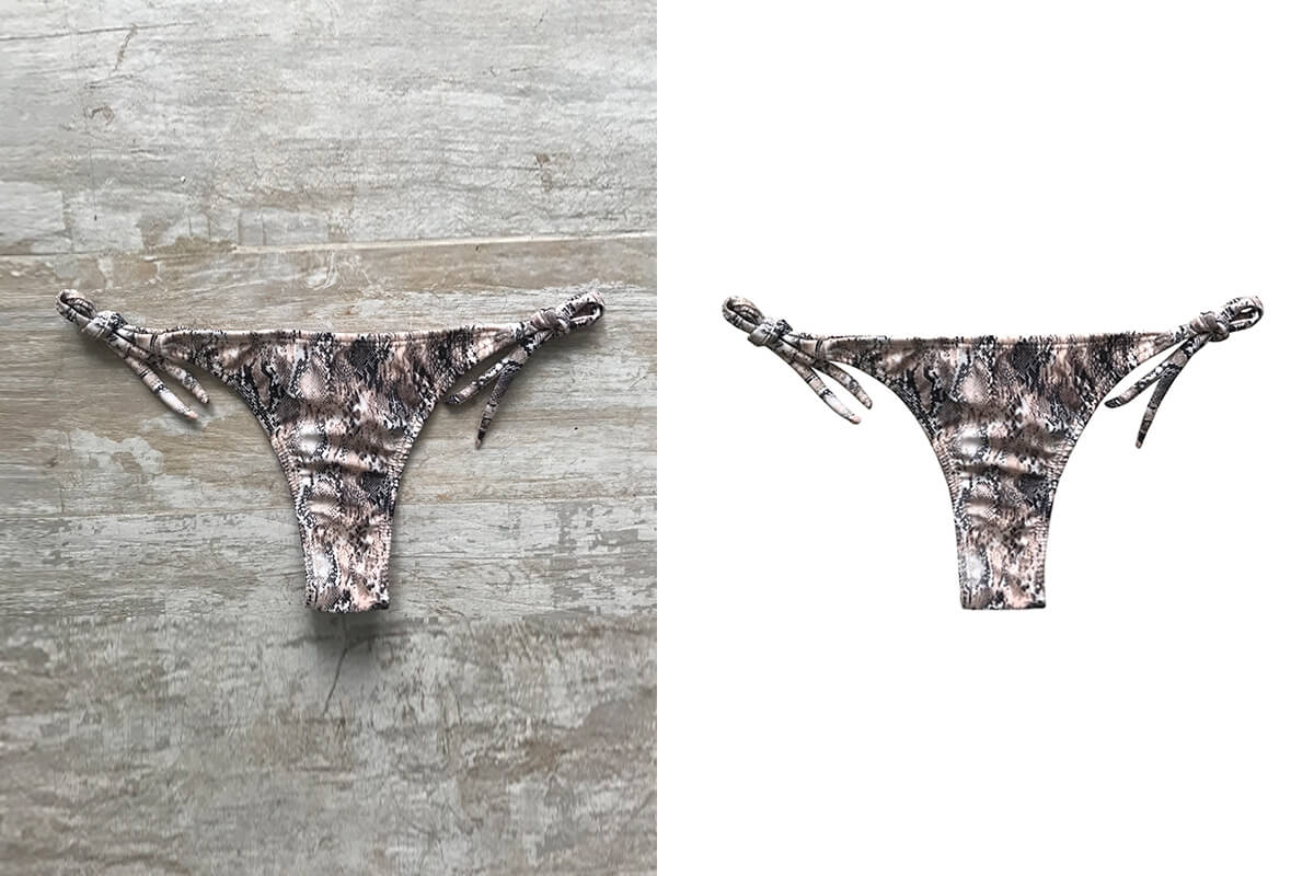 Underwear Photo Editing