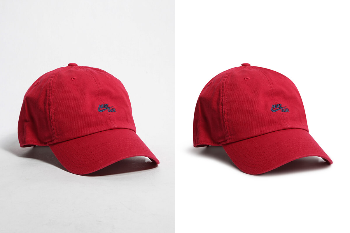 hats and bags photo editing