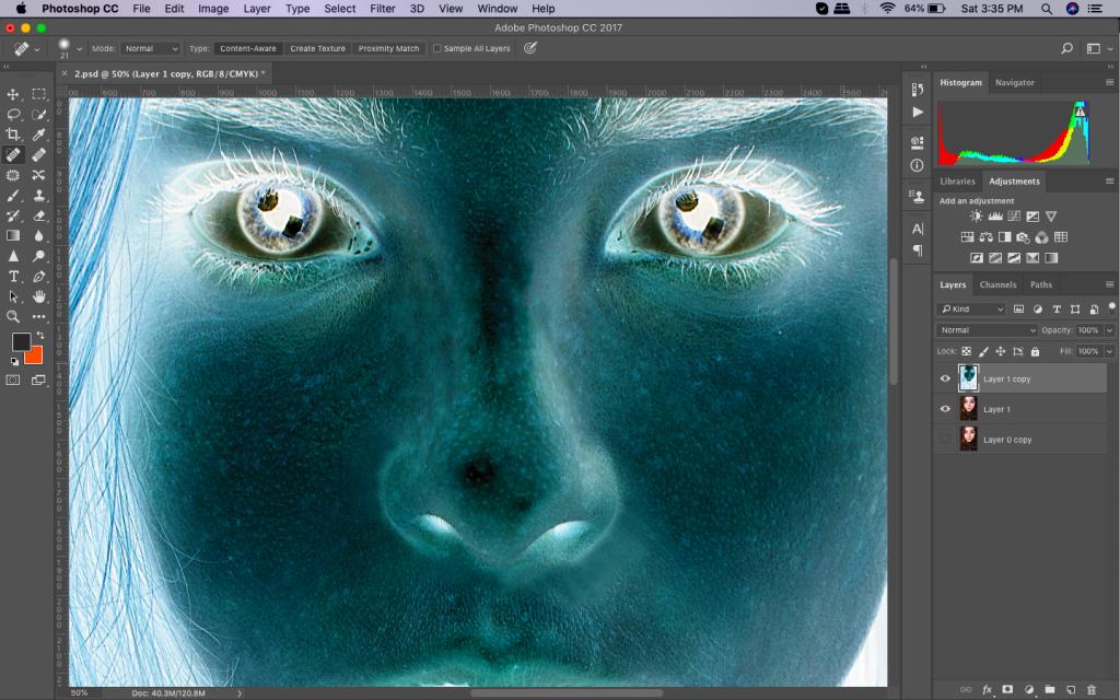 image retouching