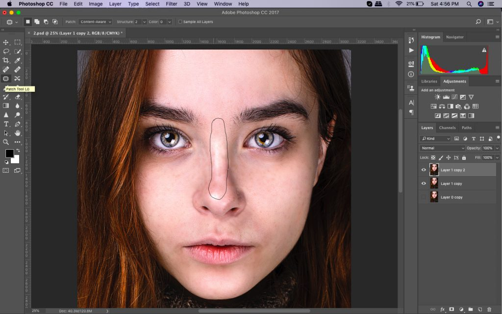 highend retouching