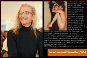 famous photographers - Annie Leibovitz