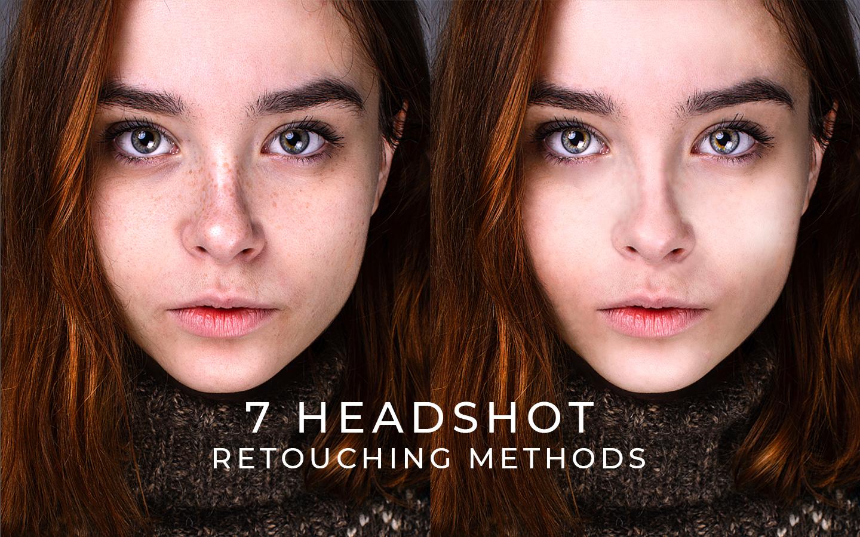 headshot retouch