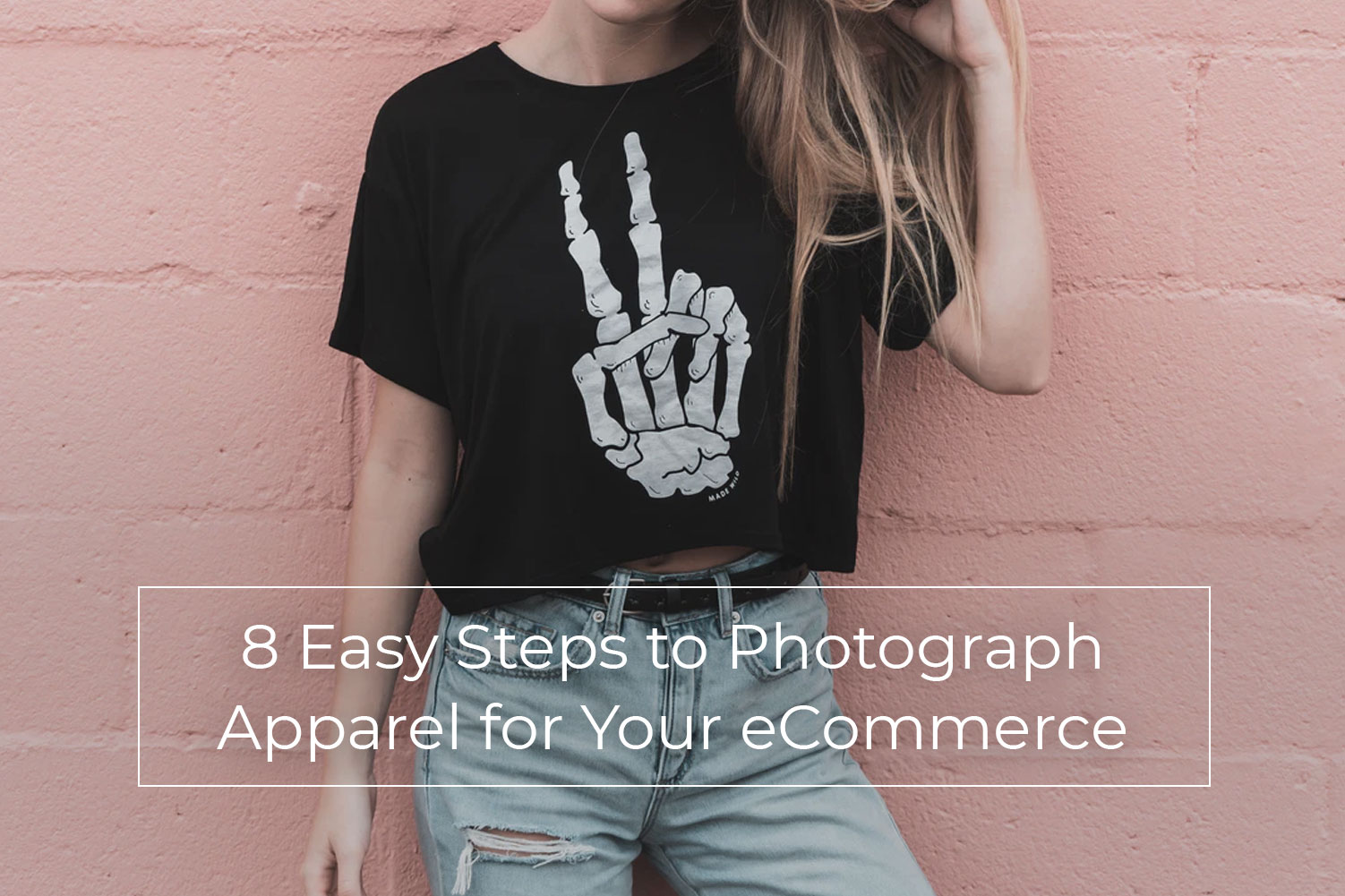 apparel product image editing photography tips