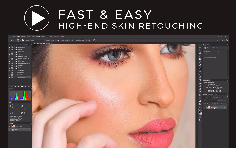 high-end retouching