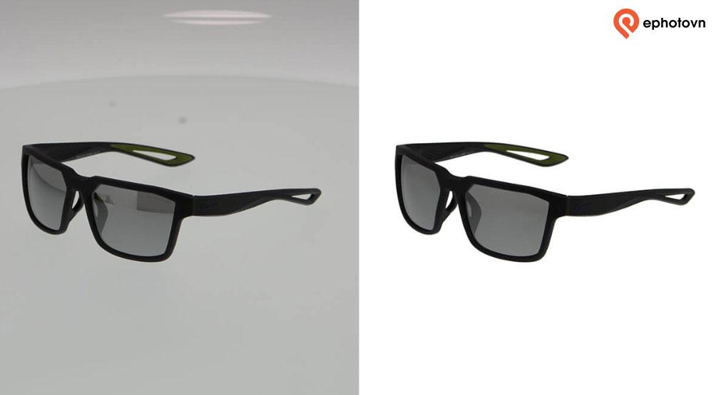 eyewear product photo editing