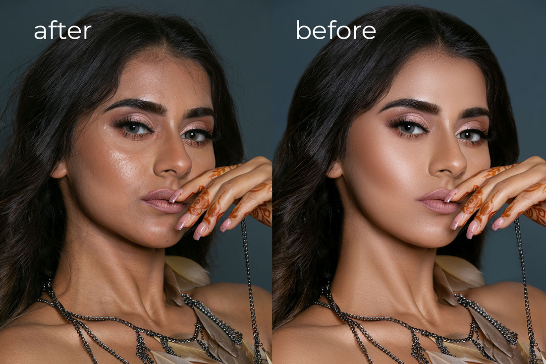 Model High-End Retouching Services