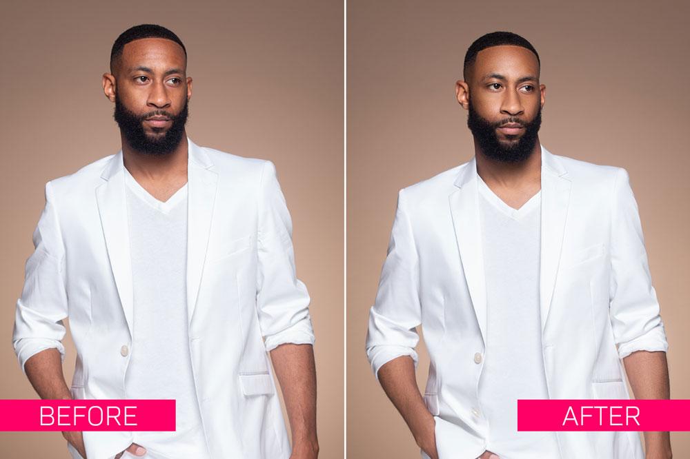 Model Actor-Headshot Photo Retouching Service