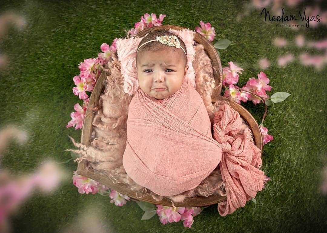 Newborn Photography - Crying Pose