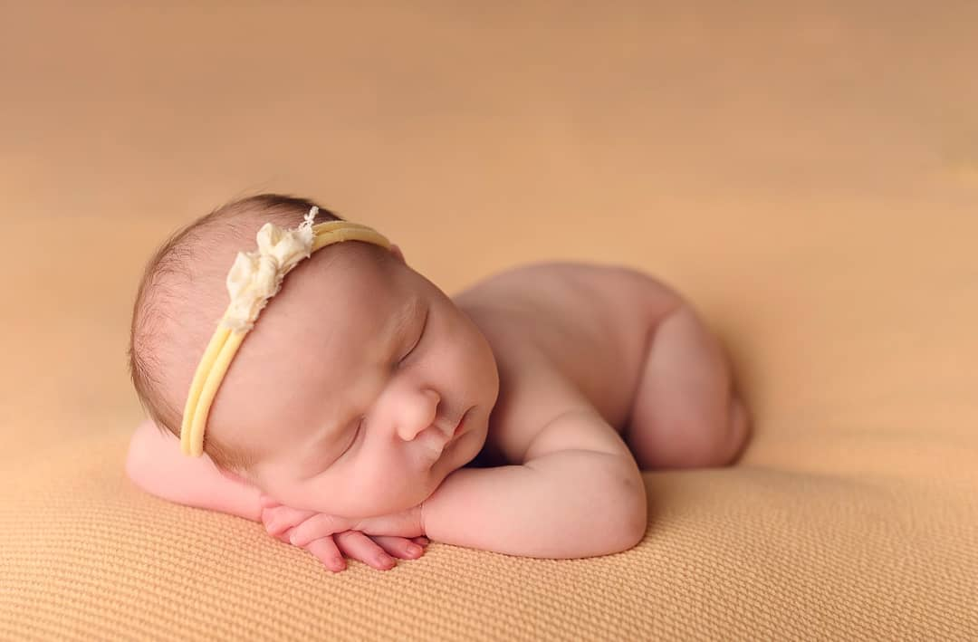 Newborn Photography - Tushy Up Pose