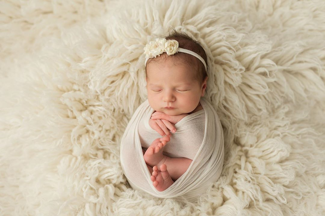 Newborn Photography - Wrapped
