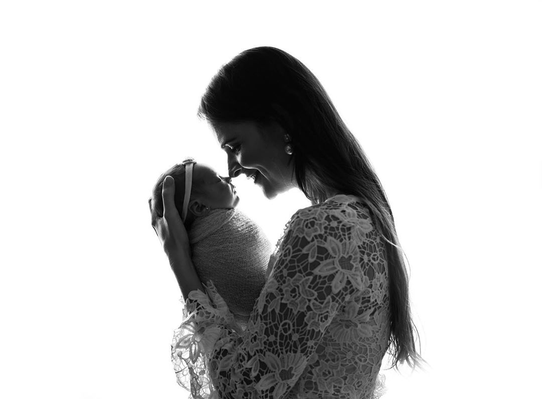 Newborn Photography - With Mom