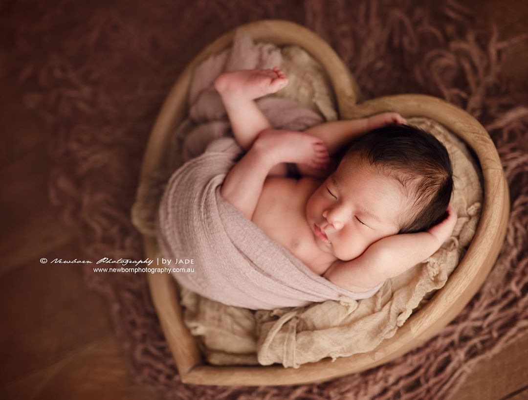 Newborn Photography - Full Length Shot
