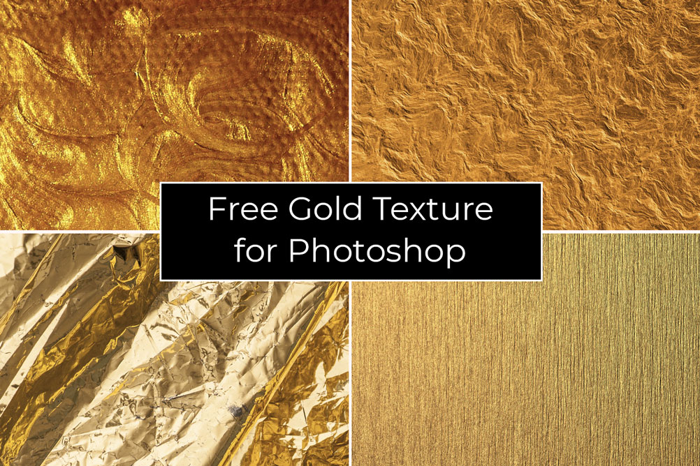 Free Gold Texture for Photoshop