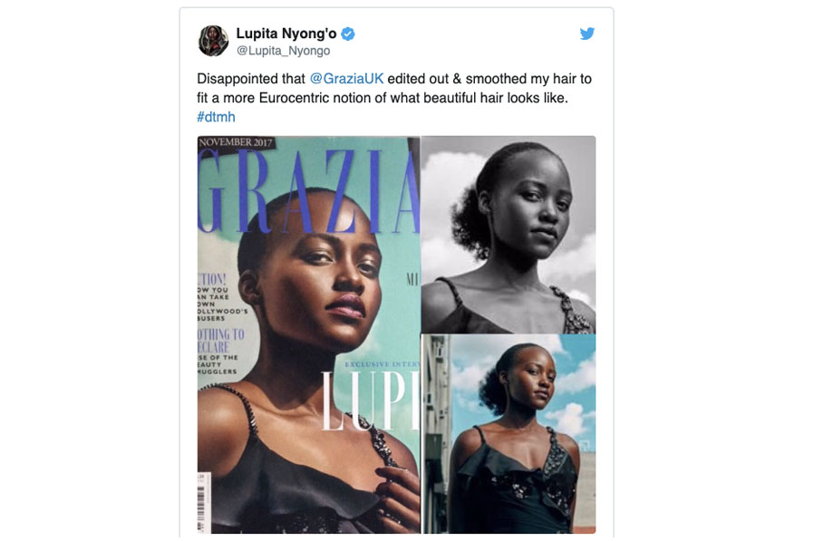 Lupita Against Too Much Photoshop