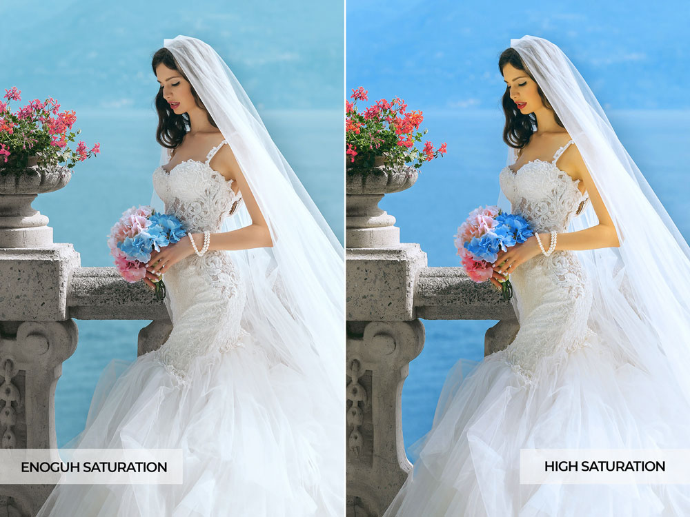 Photo Retouching Mistakes - High Saturation