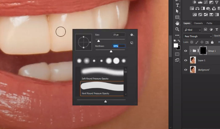Whiten Teeth In Photoshop
